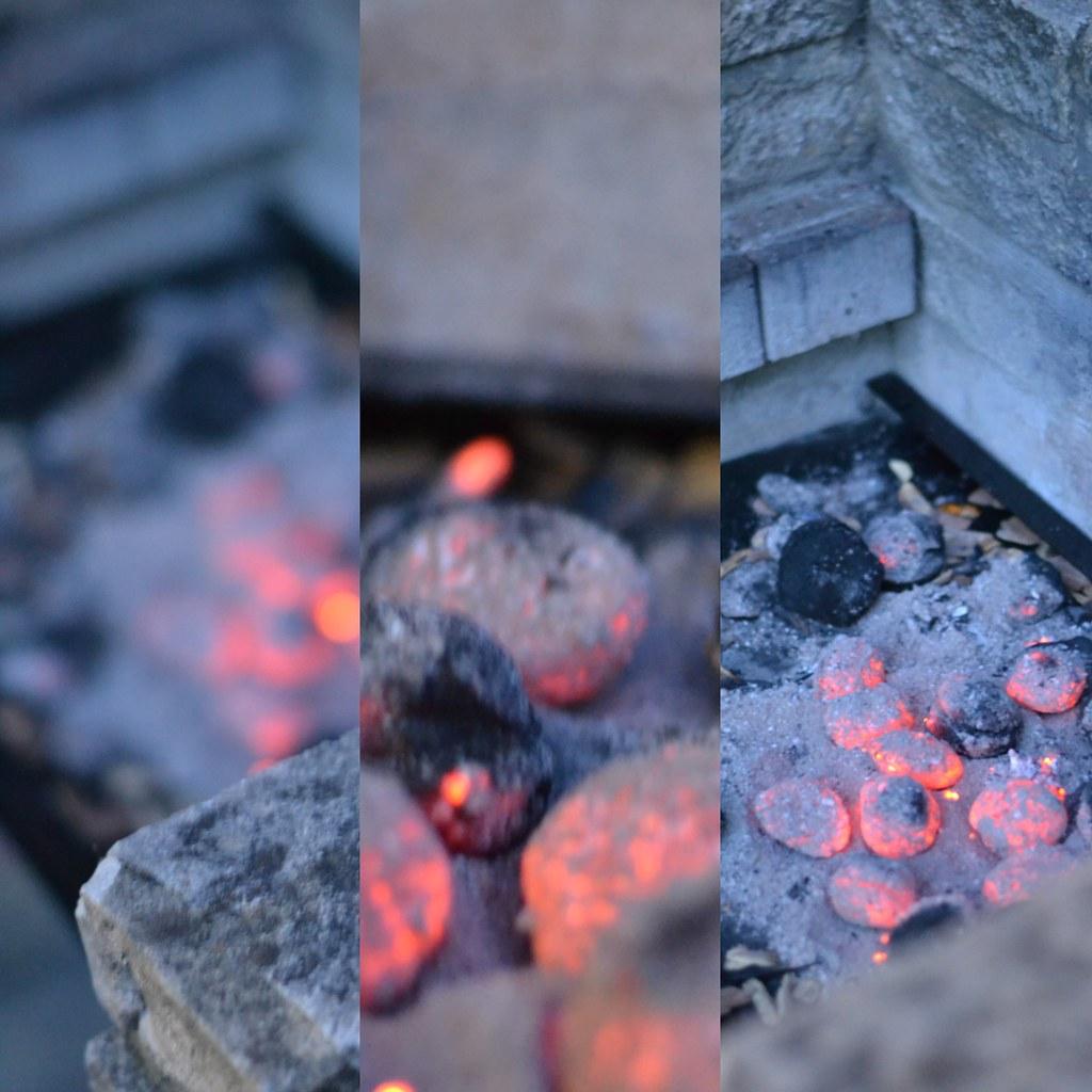 BBQ hot rocks