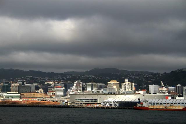 Cruce en ferry Nueva Zelanda