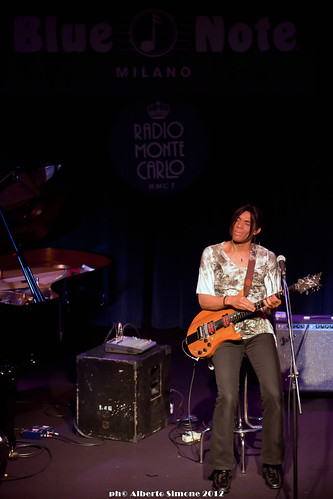 Stanley Jordan - Live @ Blue Note 11-04-2012 | by Bluenotemilano