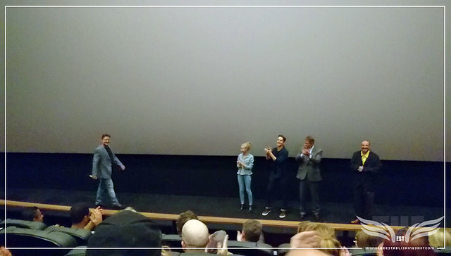 The Establishing Shot: THE NICE GUYS JOEL SILVER, SHANE BLACK, MATT BOMER, ANGOURIE RICE WELCOME NICE GUY RUSSELL CROWE TO THE STAGE
