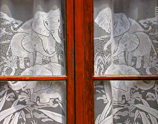 Elephant Curtains | by Colorado Sands (little break)
