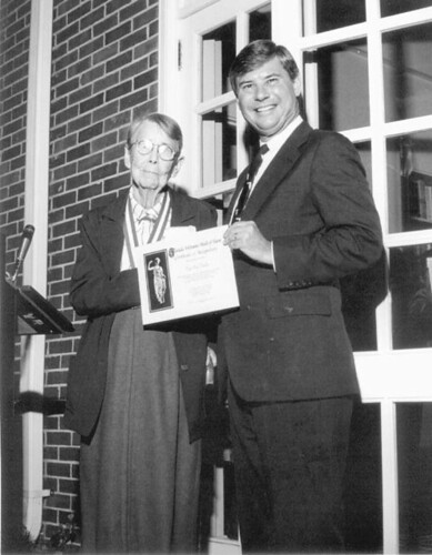 Governor Bob Graham presenting certificate to Dorothy Dodd | by State Library and Archives of Florida