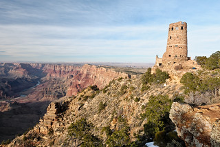 The Watchtower at Desert View, Grand Canyon | by Mr Phil Price