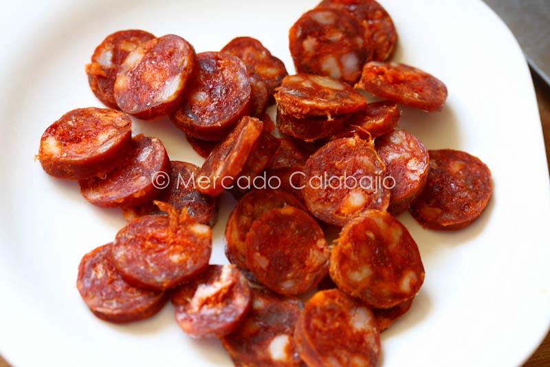 MACARRONES CON CHORIZO-7