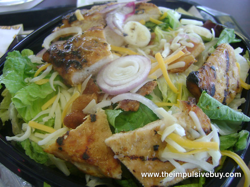 Burger King Chicken B.L.T. Garden Fresh Salad Closeup | by theimpulsivebuy