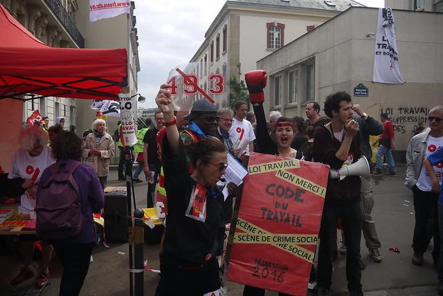 Manifestation contre la loi El Khomri