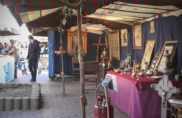 Sablon Antiques Market, Bruxelles