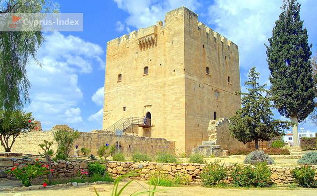 Замок Колоссии. Лимассол. Кипр