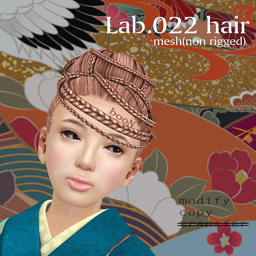 booN Lab.022 hair