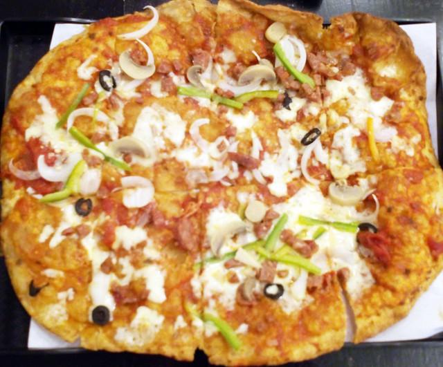 Pipa House Fried Pizza Marikina Many Pacquaio Supreme Pizza