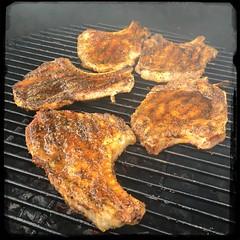 #PuertoRican #BBQ #PorkChops #KamadoJoe #Homemade #CucinaDelloZio