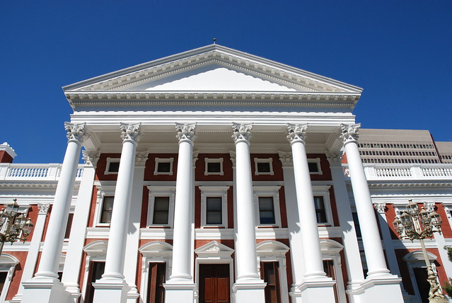 Cape Town House of Parliament. Image: carolinamibia, CC.