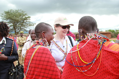 Helen Clark in Kenya to Highlight Food Security | by United Nations Development Programme