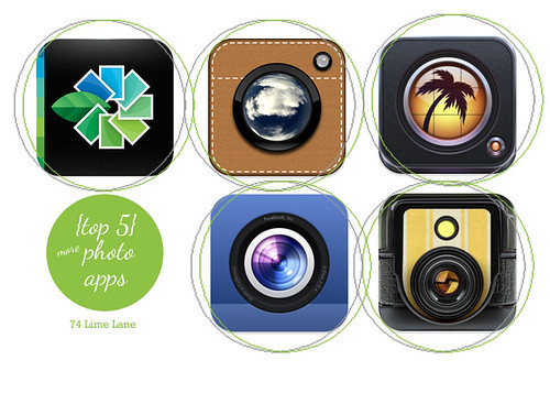 {top 5} more -~iphoto apps | by 74 Lime Lane