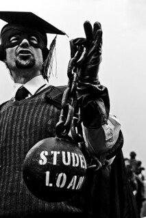 Student Loans Shackle | by EcstaticAperture
