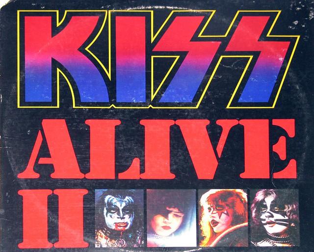 KISS Alive II Gatefold DOLP