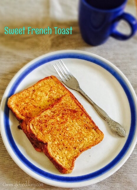 Sweet French Toast Recipe for Toddlers and Kids3