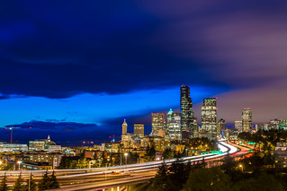 Storm Clouds Past Seattle | by Wayneson Chan