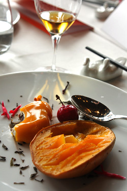 roasted mango dessert | by David Lebovitz