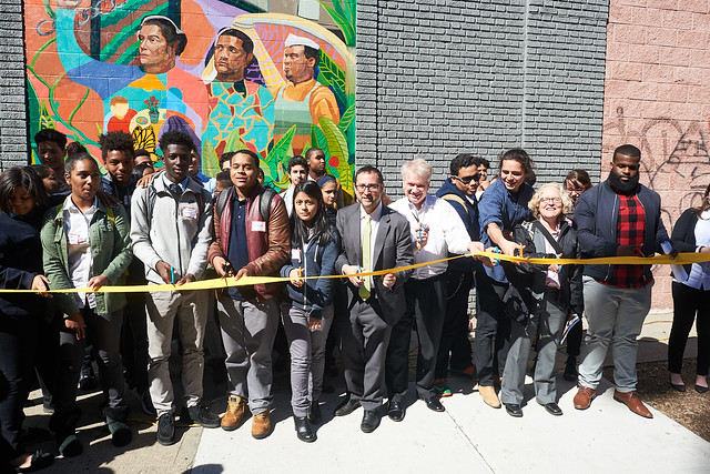 May 16th Mural Unveiling in the South Bronx