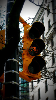 Hornby Street bike signal (at Georgia) | by planted city