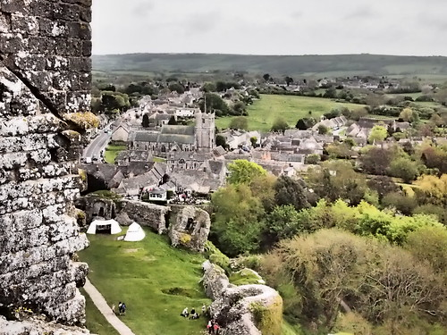 Corfe Castle | by ReflectedSerendipity