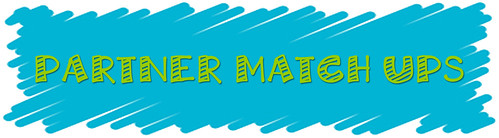 5 Ways to Move in Math |  Partner Match Ups