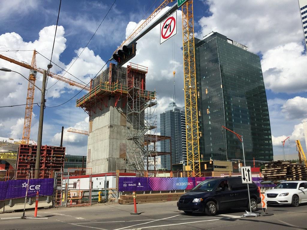 Edmonton Stantec Tower 251m 66s One Properties Skeleton 7093 Taken Yesterday