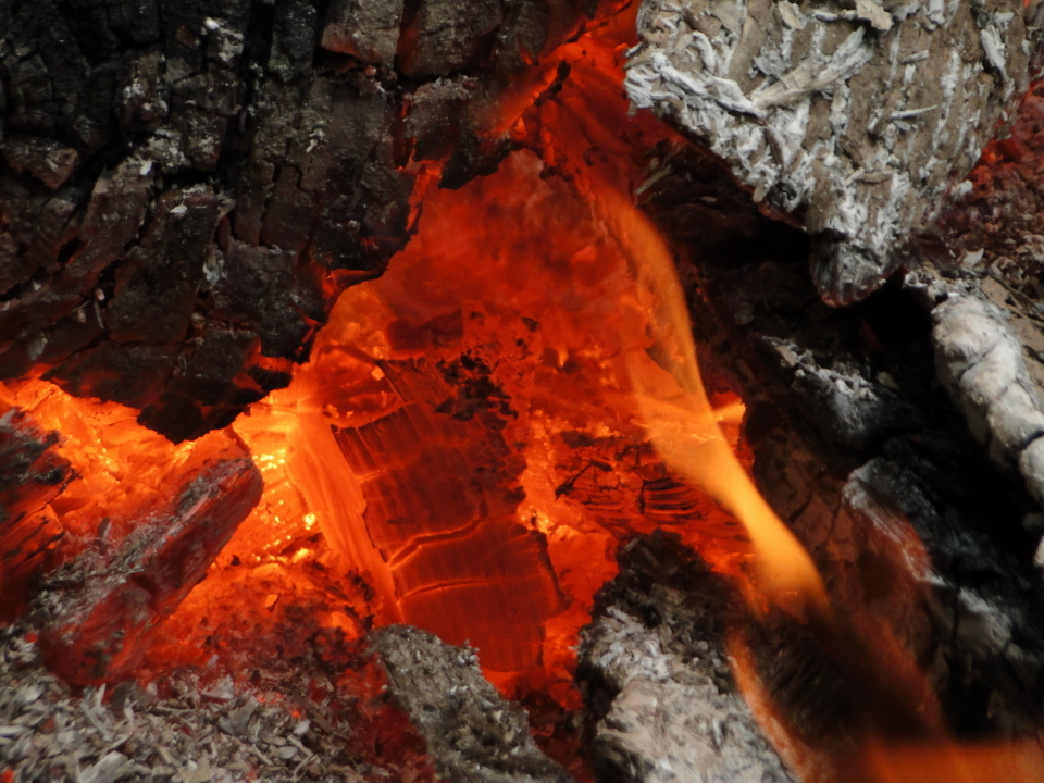 Bonfire, Sacandaga Lake, Adirondacks, NY