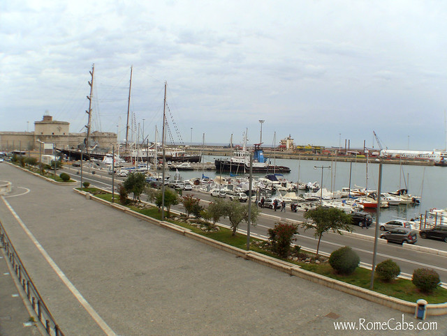 Civitavecchia harbor