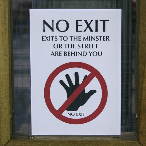 NO EXIT | by Leo Reynolds