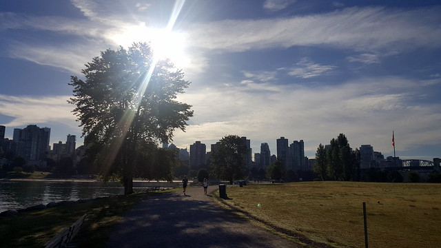 Seawall in Vanier Park