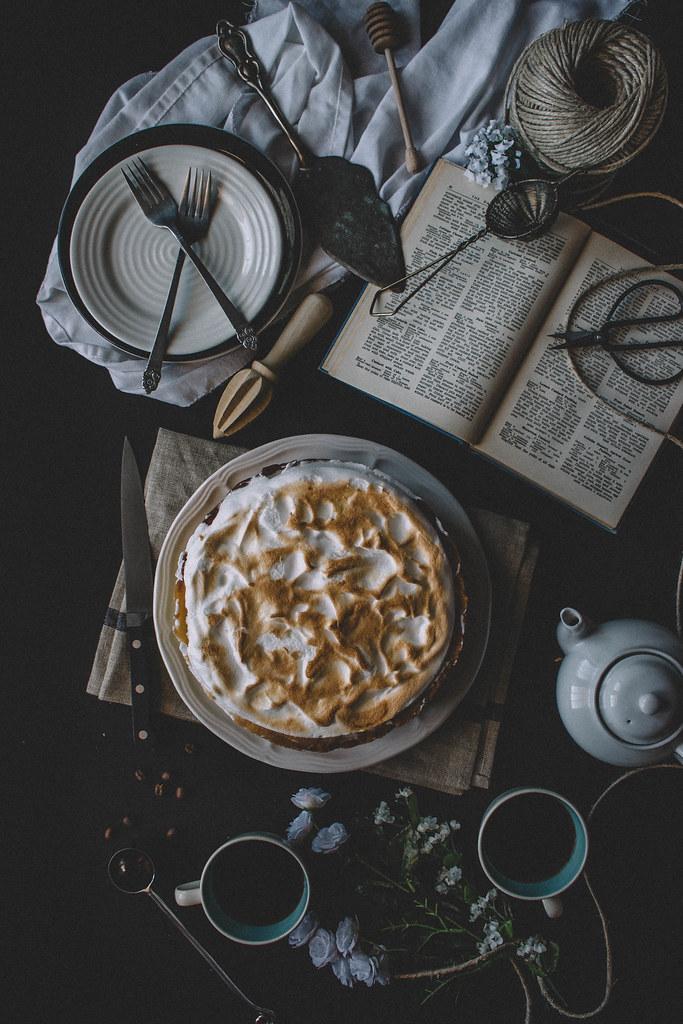 Deep Dish Lemon Meringue Cream Pie