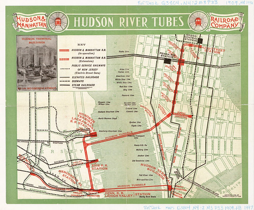 Hudson River Tubes | by Penn State Maps Library