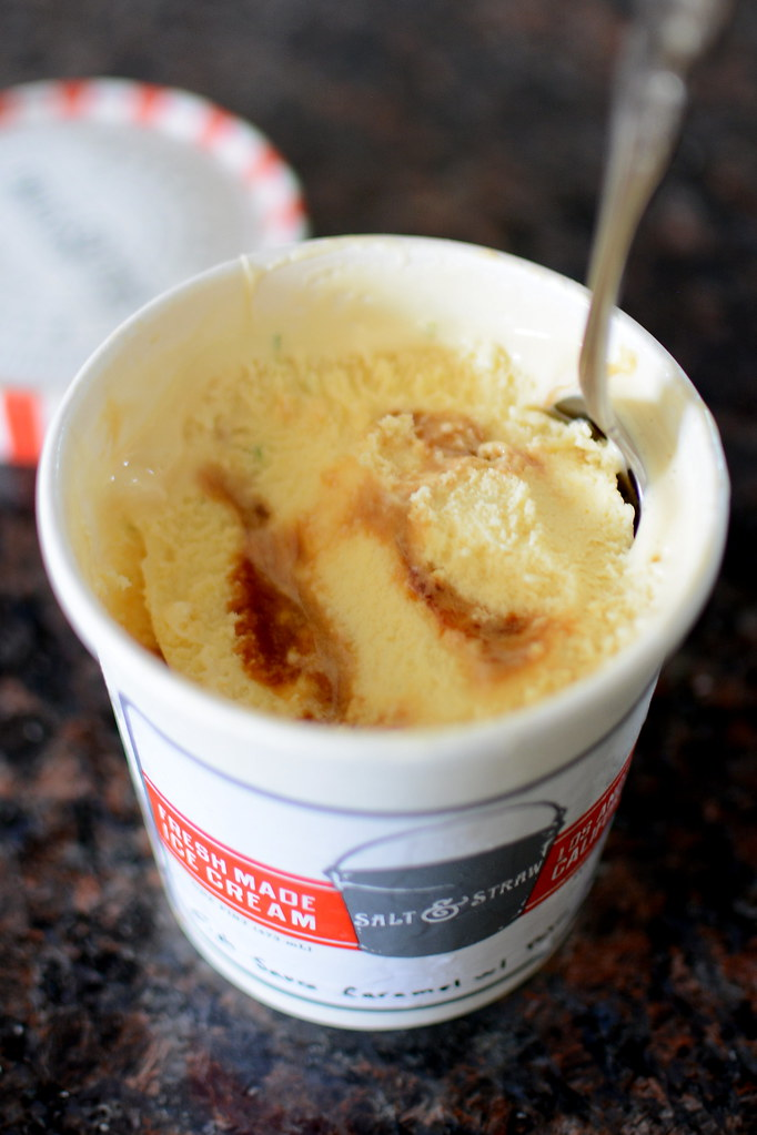 Salt & Straw | Fish Sauce Caramel with Palm Sugar Ice Cream