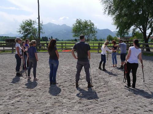 Horsemanship Grundkurs 05/2016 Weidacher Hof Übersee am Chiemsee
