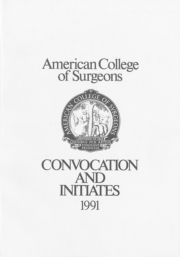 1991 Convocation Book