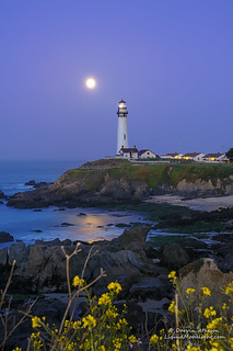 Super Moon - Pigeon Point Lighthouse | by Darvin Atkeson