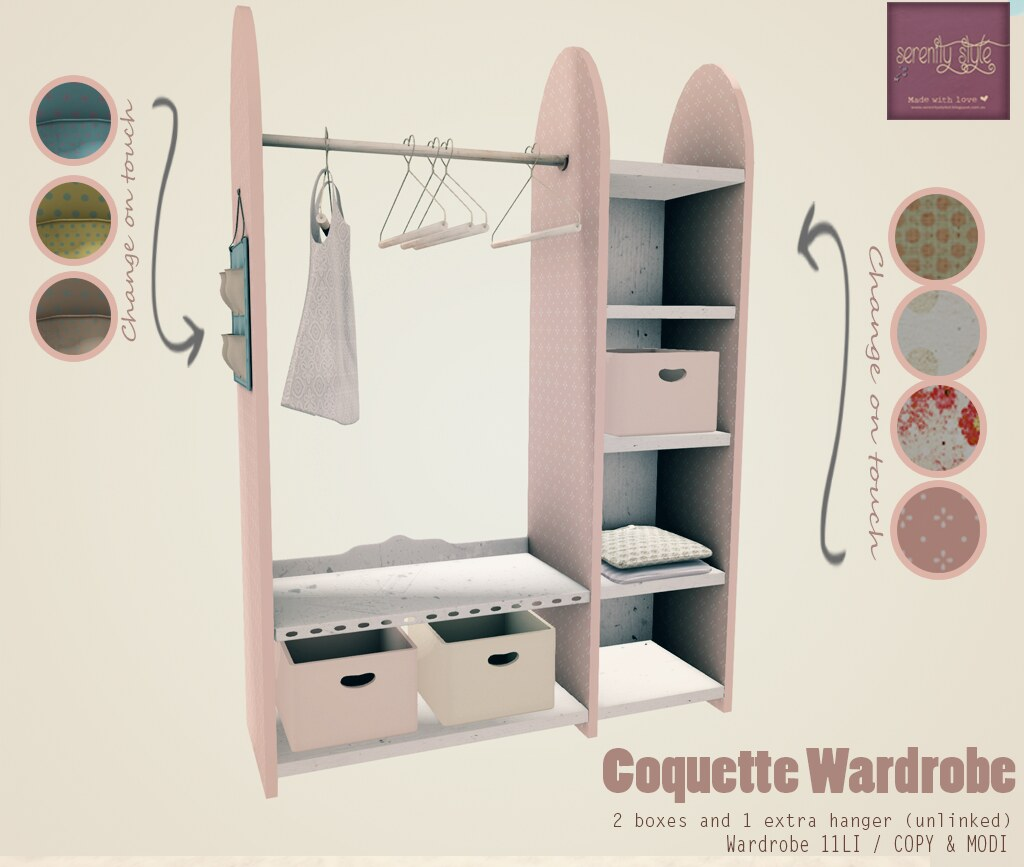 Serenity Style- Coquette Wardrobe