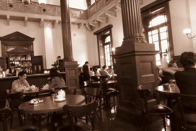 都内散策 584 三菱一号館美術館 Cafe 1894