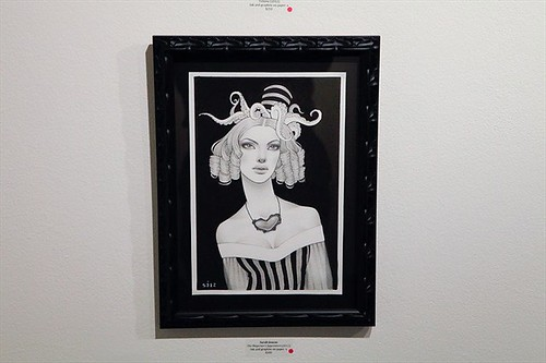 Opening night for Sarah Joncas, Caia Koopman and David Cooley at Thinkspace (June 2012) | by thinkspace_gallery