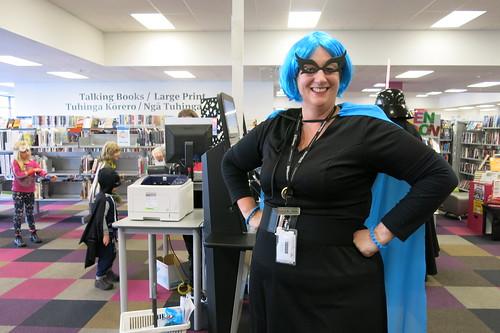 Katrina - Comics - Heroes and Villains Day at Central Library Peterborough