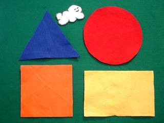Shapes Flannel Board | by Clermont County Public Library