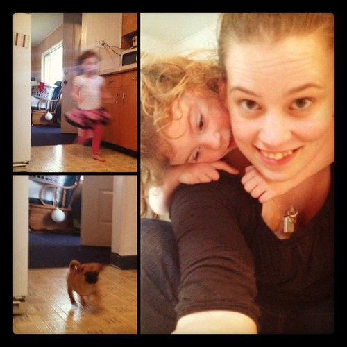 Apparently mommy is base… #gustav #puppy #pug #terrier #chihuahua #mydaughter #youcanthandlethecute | by Mrs Soup