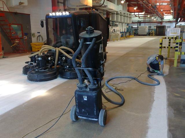 Resin Terrazzo Refurbishment
