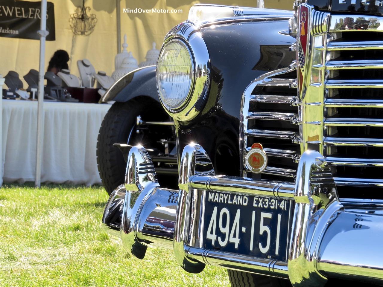 1941 Buick Limited Headlights