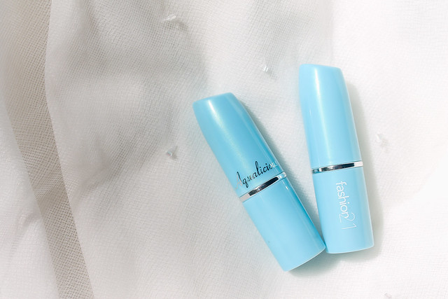 Fashion 21 Aqualicious Lipstick Review and Swatches |Nitty Gritty Reviews