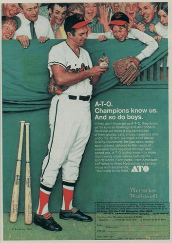norman rockwell - brooks robinson