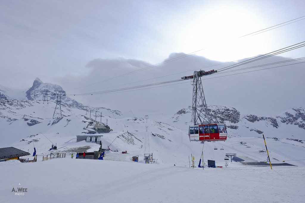 Matterhorn Glacier Paradise gondola