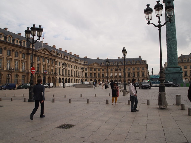 P5261297 ヴァンドーム広場(Place Vendôme) フランス パリ paris france